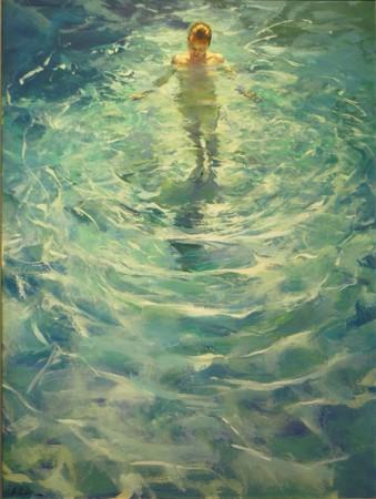 Anna 2 - oil on canvas - 120 x 90 cm