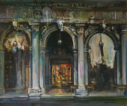 Carnevale Shop, Venice - oil on canvas - 76 x 102cm