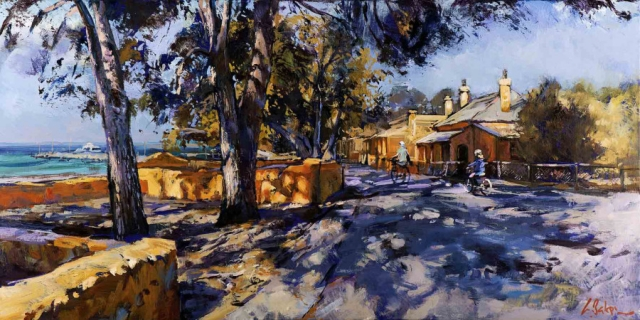 One Sunday Morning, Rottnest - oil on canvas - 50 x 101 cm - SOLD