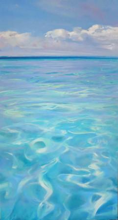 Summer Rhythms 2 - oil on board - 73 x 51 cm