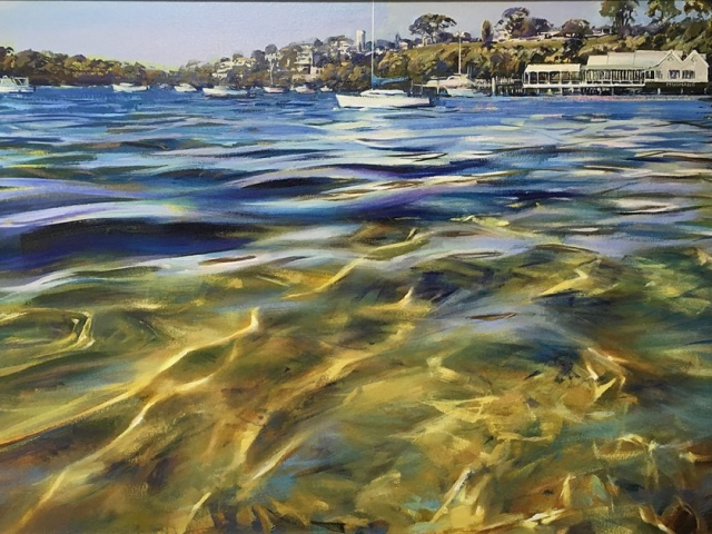 Greg Baker - Mosman (oil on canvas, 75 x 122 cms)