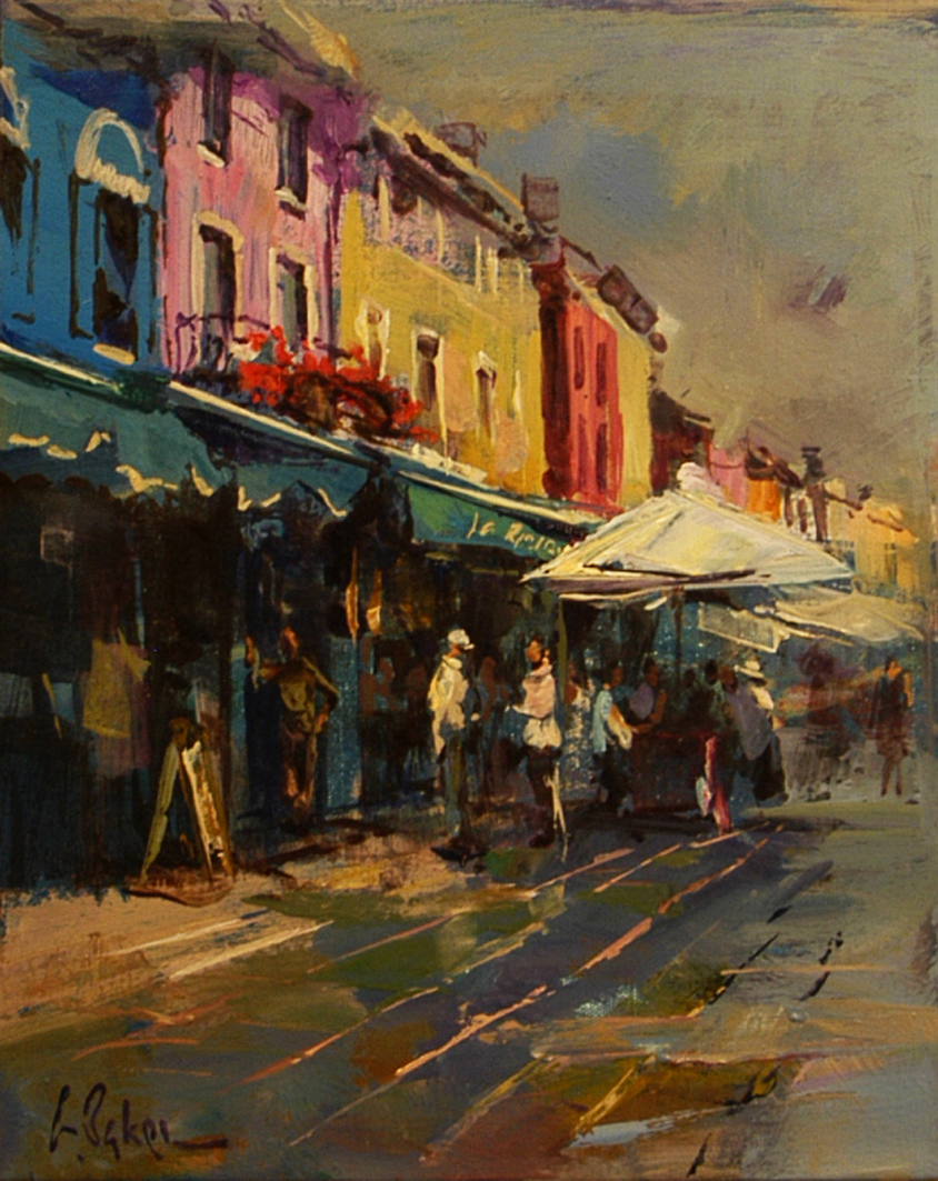 After a Sunshower, Burano - oil on canvas - 31 x 38 cm - SOLD