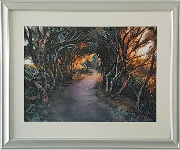 Greg Baker - The Magic Walkway (iPad Original 45 x 67cm) SOLD